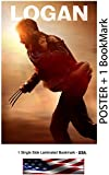 "LOGAN (2017) - Movie Poster, Size: 24 x 36"" : Hugh Jackman (Wolverine 3)"