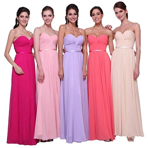 Women's Burgundy Prom Long Gowns Evening Pleated Sweetheart Bridesmaid Dormencir awqdWpRac