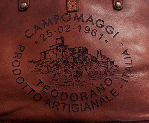 Campomaggi, Borsa a mano donna marrone cognac One size