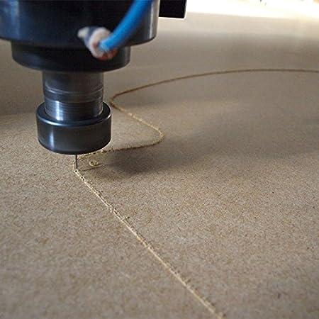 A1 6mm MDF Platte 84x60 cm roh