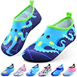 DigiHero Kids Water Shoes-Quick Dry Non-Slip Water Skin Barefoot Swim Water Shoes Children Aqua Socks for Beach Pool for Boys,Girls,Toddler, Infant