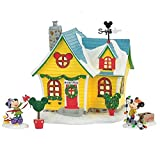 Department 56 Disney Village Mickey's Place 4 Piece Holiday Gift Set