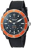 Alpina Men's 'Horological Smart Watch' Quartz Stainless Steel and Rubber, Color:Black (Model: AL-282LBO4V6)