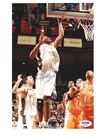 a2e490cc024 Chris Bosh Autographed 8x10 Photo Georgia Tech PSA/DNA #S25938 at Amazon's  Sports Collectibles Store