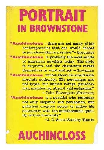 Portrait In Brownstone by Louis Auchincloss