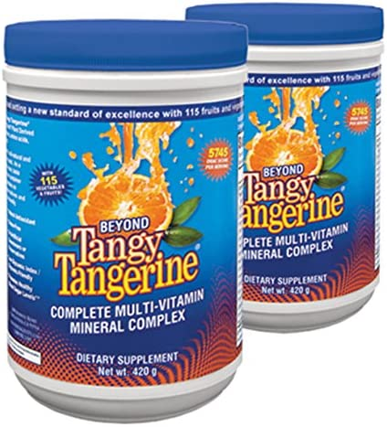 Beyond Tangy Tangerine – 420 G Canister, 2 Pack by Youngevity