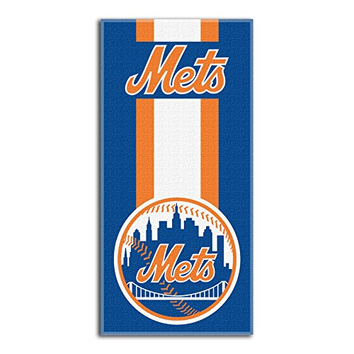 MLB New York Mets Zone Read Beach Towel, 30