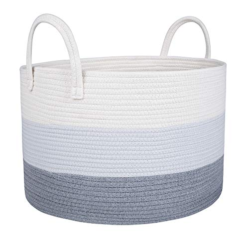 Extra Large Cotton Rope Storage Basket 20