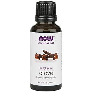 NOW Clove Oil, 1-Ounce (2 Pack)