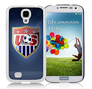 USA Soccer 14 White For Samsung Galaxy S4 Case Genuine and Cool Design