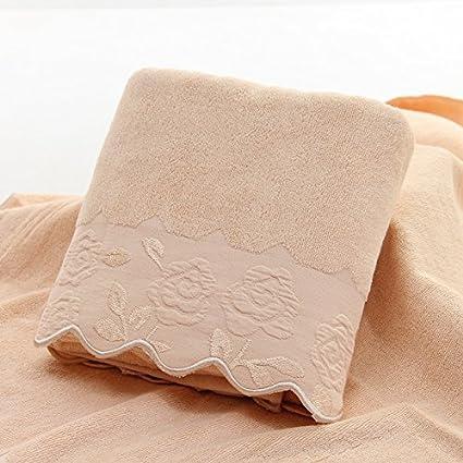 Toallas de algodón puro y limpie el pecho Inicio toallas grandes de baño suave y absorbente
