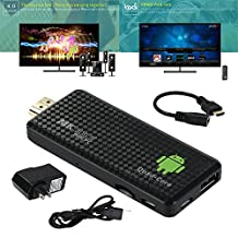 Quad Core Smart Android TV Stick 2GB RAM 16GB ROM Bluetooth Wifi Mini PC Dongle Android 4.2.2 TV Dongle stick