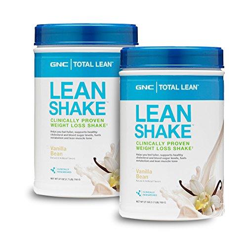 GNC Total Lean Lean Shake - Vanilla Bean Twin Pack