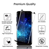 Samsung Galaxy S8 Screen Protector, Otium S8 Tempered Glass Case Friendly with Installation Tray 3D Curved, Bubble Free for Samsung Galaxy S8