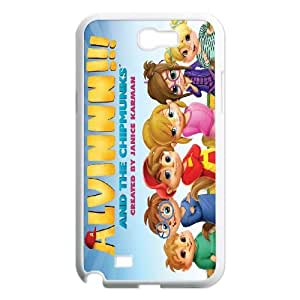 Alvin and the Chipmunks Samsung Galaxy N2 7100 Cell Phone Case White SUJ8447488