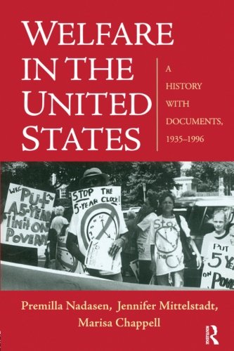 Welfare in the United States: A History with Documents, - Usa Jennifer