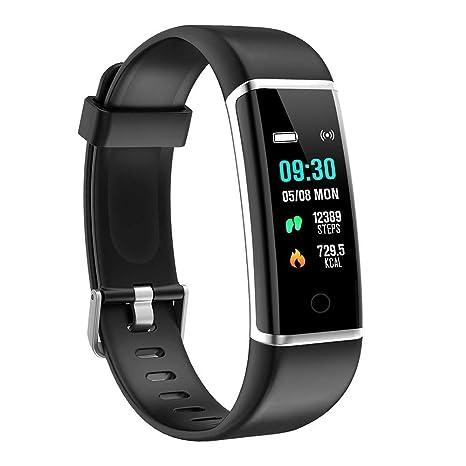 28f610488cb63e BingoFit Fitness Tracker, Impermeabile Sport Orologio Touchscreen Activity  Tracker Schermo a Colori con Caloria Monitoraggio