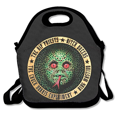 Funny Designer Bag Tribute To Alice Cooper 7 Vinyl Lunch Tote Bag.