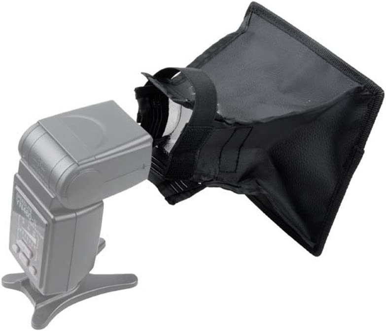 CLOVER Flash Softbox Speedlight Diffuser For Canon Nikon DSLR Cameras