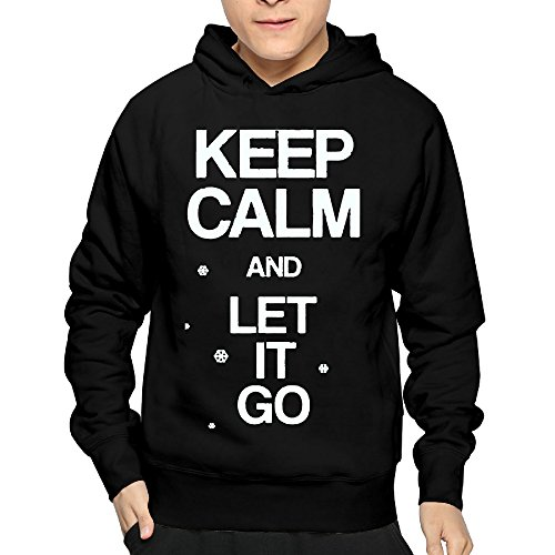 Lightweight 80's Juniors Man's Let It Go Small Hoodie - Fashion Orlando Mall