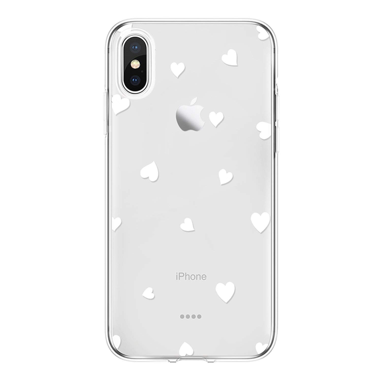 Amazon.com: Love Heart Cover for iPhone 7 6 S 8 Plus for ...