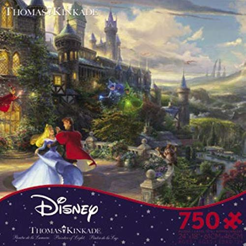 750 Pieces The Disney Collection Thomas Kinkade Sleeping Beauty Enchanting Puzzle
