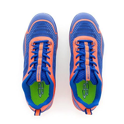 Tacchetti Modellati Boortah Mens Berzerk - 11 Opzioni Di Colore - Taglie Multiple Royal / Orange