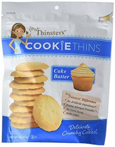 Amazon Mrs Thinsters Cake Batter Cookie Thins 4 Ounce