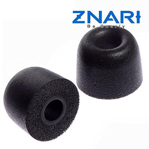 ZNARI Earbud Foam Tips - T500-3 Pairs - Small Medium Large