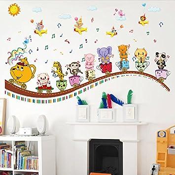 Mddjj Gere Classe Mur Autocollants Decoration Enfants Chambre