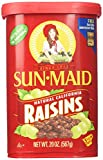 Sun Maid Natural California Raisins 20-Ounce (567g) (Pack of 3)
