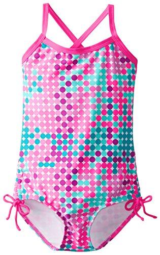 Kanu Surf Little Girls' Toddler Nikki One Piece Swimsuit, Pink, 2T ()