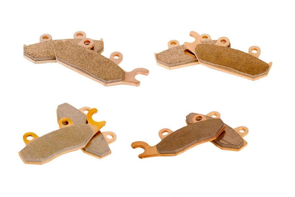 Brake Pads for Yamaha 700 Viking YXM700 4x4 2014-17 Front & Rear by Race-Driven