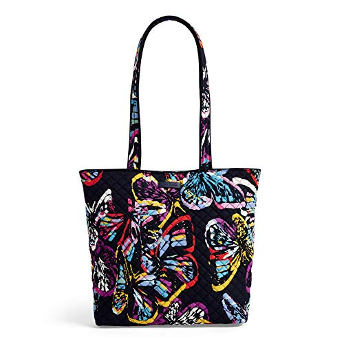 Vera Bradley Iconic Tote Bag, Signature Cotton, Butterfly Flutter, butterfly flutter, One Size