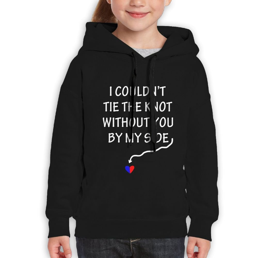 RWEA I Couldn't Tie The Knot Without You by Side Weddin Girl' Classic Unique Sports Hoodies Lightweight