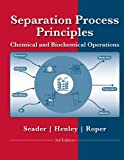 Separation Process Principles 3rd Edition