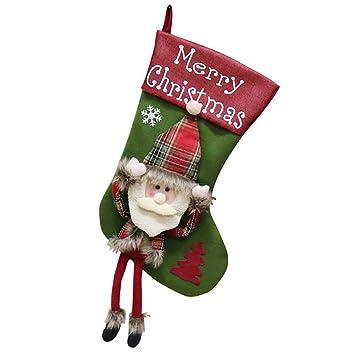 Amazon.com: Aooki - Bolsas de Navidad para regalo, diseño de ...