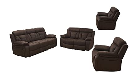 Pleasing Amazon Com Betsy Furniture 4Pc Microfiber Fabric Recliner Forskolin Free Trial Chair Design Images Forskolin Free Trialorg