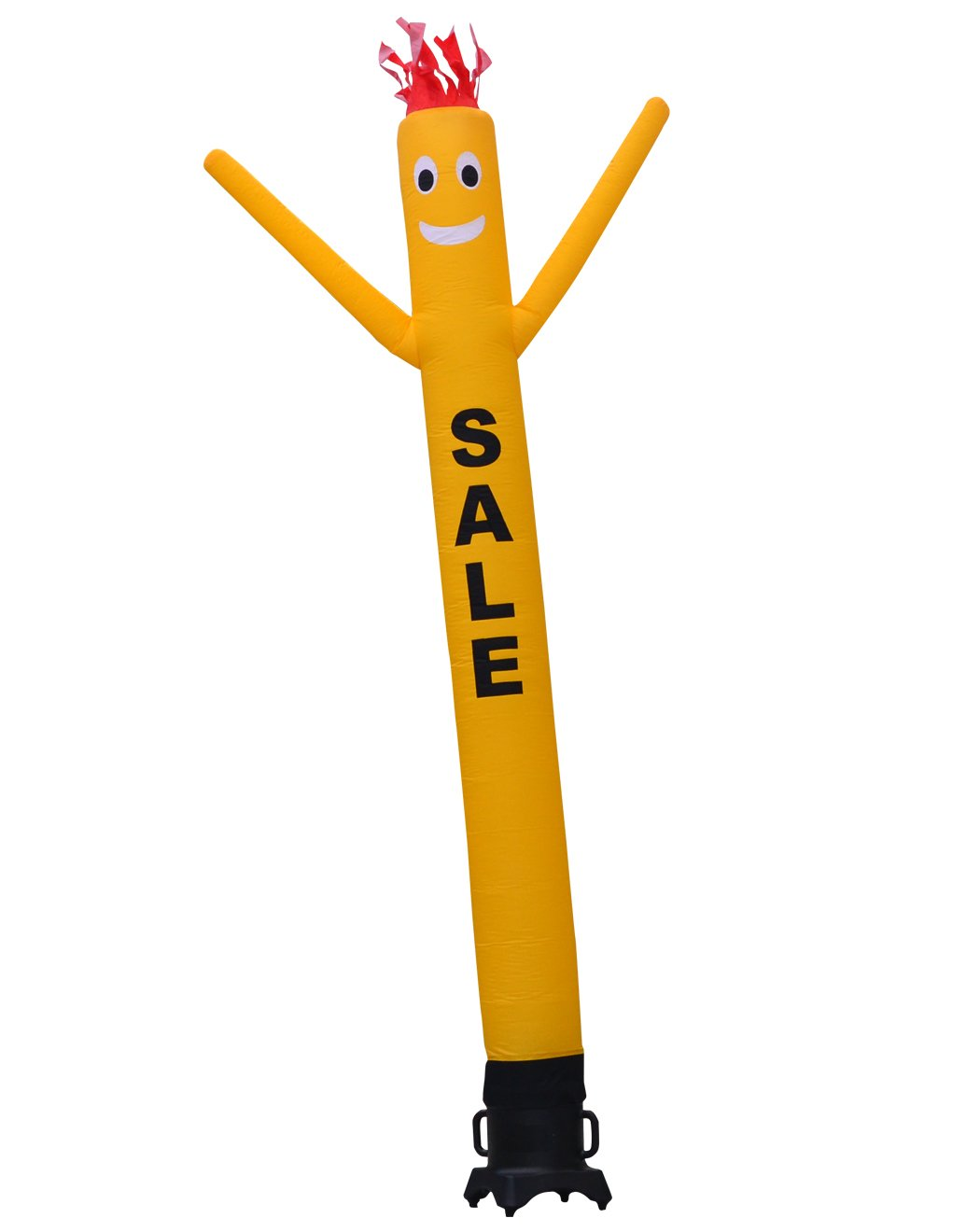 LookOurWay ''Sale Air Dancers Inflatable Tube Man Attachment, 10-Feet, Yellow (No Blower) by LookOurWay