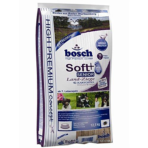 Bosch Soft Senior Ziege & Kartoffel 2x12,5kg | getreidefreies Hundefutter