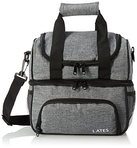 Lates Lunch Box Insulated Lunch Bag Large Cooler Lunch Bag for Women, Men, Kids, Adults with Adjustable Shoulder Strap Water-Resistant Cooler Bag Lunch Containers Cool Lunch Boxes Thermos Lunch Pack