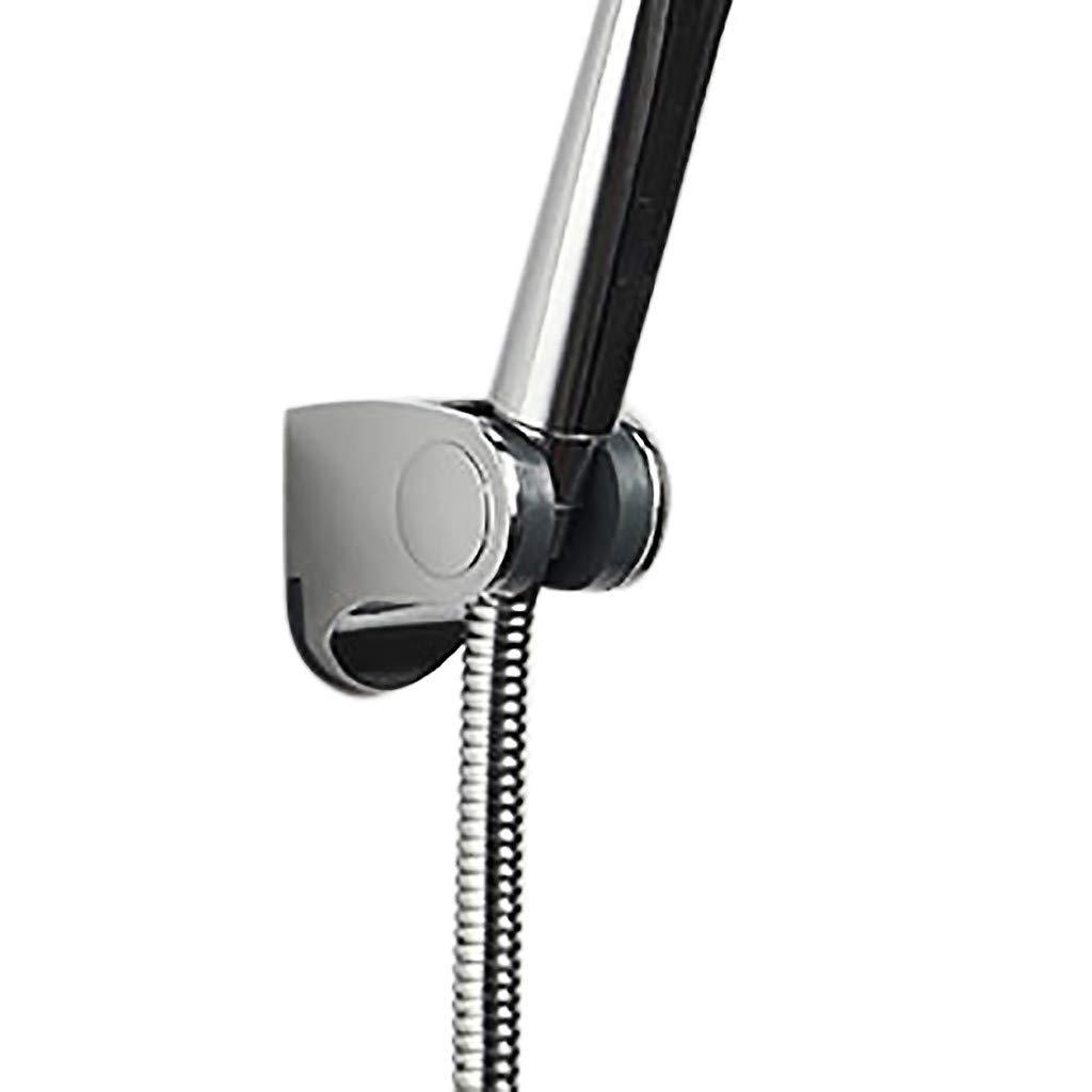 Mr.Macy Shower Head Handset Holder Chrome Bathroom Wall Mount Adjustable Bracket by Mr.Macy (Image #3)