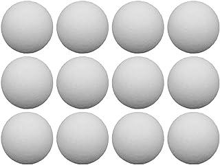 LIOOBO 12pcs Ballons de Soccer de Table Balles de Rechange pour Table, Accessoires de Table en Plastique