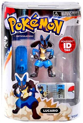 Pokemon: Legendary Lucario 3 Inch Action Figure (Series 2)