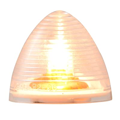 GG Grand General 80938 Clear 2 Inches Beehive Light: Automotive