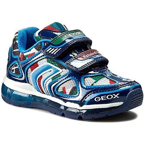 Geox  Geox J6244a Navy/multicolor, Jungen Sneaker 24