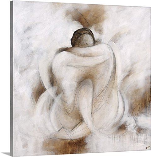 greatBIGcanvas Gallery-Wrapped Canvas entitled Love Embracing by Rikki Drotar 35''x35'' by greatBIGcanvas (Image #4)