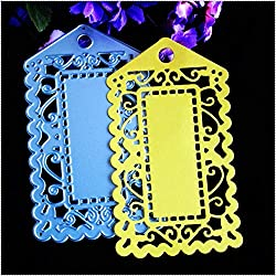 Ochoos 1 PC Mother's Day Luggage Tag 3D Cutting Dies Stencils Scrapbookings Cards Embossing Mother's Gifts DIY Crafts Sweet