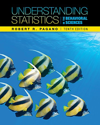 Behavioral Sciences: Understanding Statistics In The Behavioral Sciences
