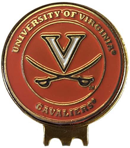 Virginia Cavaliers Golf Ball Marker ON HAT Clip Great Gift IDEA UVA Acc